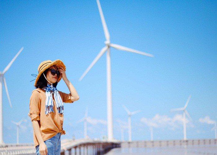 Check-in cánh đồng quạt gió Bạc Liêu